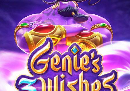 PG SLOT   Genie's 3 Wishes   เกมสล็อตจินนี่ ถูตะเกียงรับทรัพย์