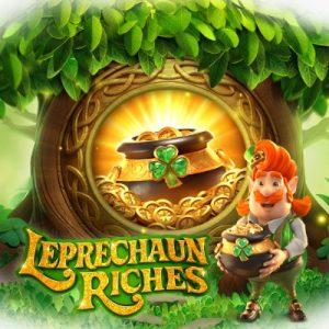 PG Slot_Leprechaun Riches สมบัติของภูติจิ๋ว รีวิวสัญลักษณ์ และอัตราการจ่าย_เกมสล็อตออนไลน์