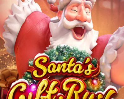 PG SLOT | Santa's gift Rush ของขวัญจากซานต้า