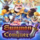 PG Slot_Summon & Conquer ซัมม่อน ผู้พิชิตอัญมณี รีวิวฟีเจอร์