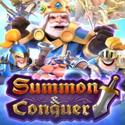 PG SLOT | Summon & Conquer | ซัมม่อน ผู้พิชิตอัญมณี รีวิวฟีเจอร์