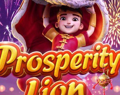 PG Slot_Prosperity Lion สล็อตเชิดสิงโต