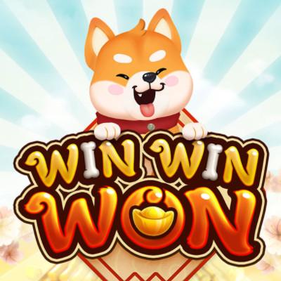 PG Slot_Win-Win Won สล็อตหมาน้อยสุดน่ารัก สัญลักษณ์และอัตราจ่าย
