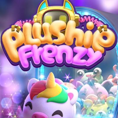 PG Slot_Plushie Frenzy สล็อตตู้คีบตุ๊กตา สัญลักษณ์และอัตราจ่าย
