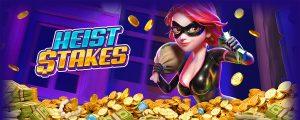 PG SLOT | Heist Stakes เกมสล็อต ปล้นธนาคาร เกมใหม่ 2021_สล็อต2021